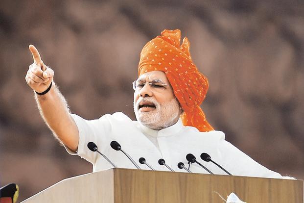 नरेंद्र मोदी का राजनीतिक सफर