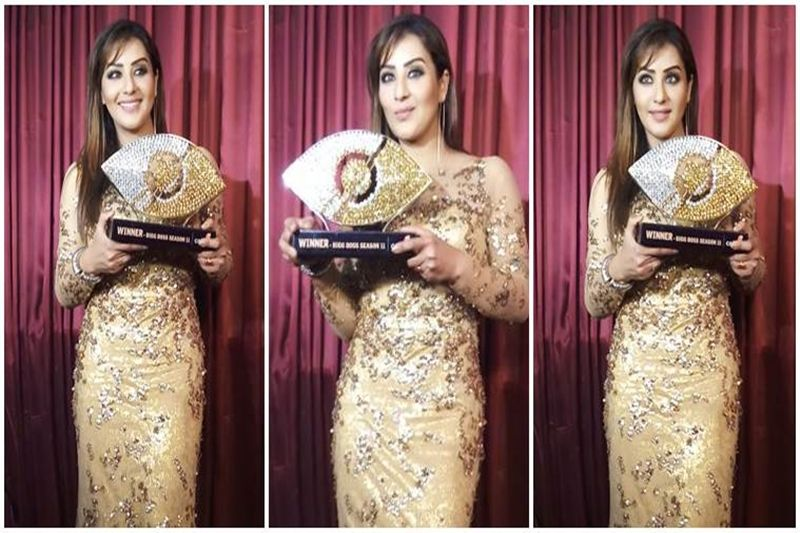 Shilpa Shinde Bigg Boss 11 Winner