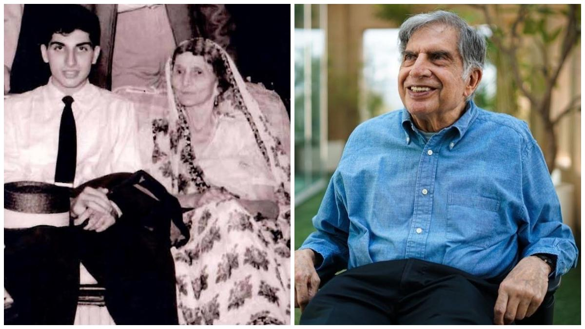 Ratan Tata Family Photo