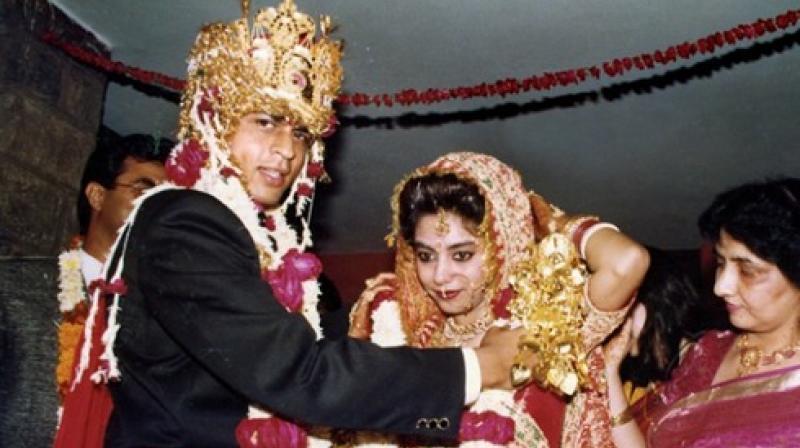 शाहरुख खान और गौरी की शादी