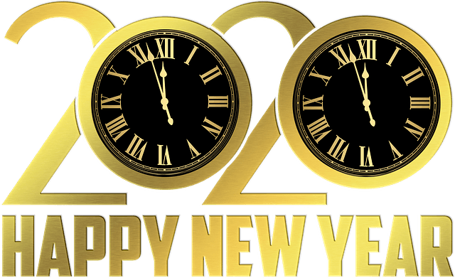 Full HD Happy New Year 2020 Wallpaper Download