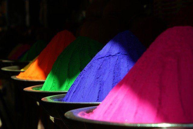 Holi Colors Images