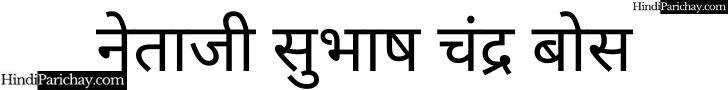 Netaji Subhash Chandra Bose LogoNetaji Subhash Chandra Bose Logo