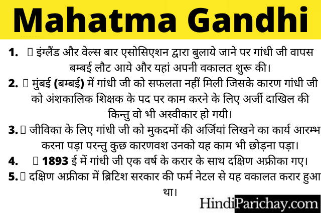 Mahatma Gandhi Per Nibandh